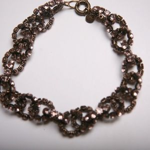 Choker Necklace Pewter